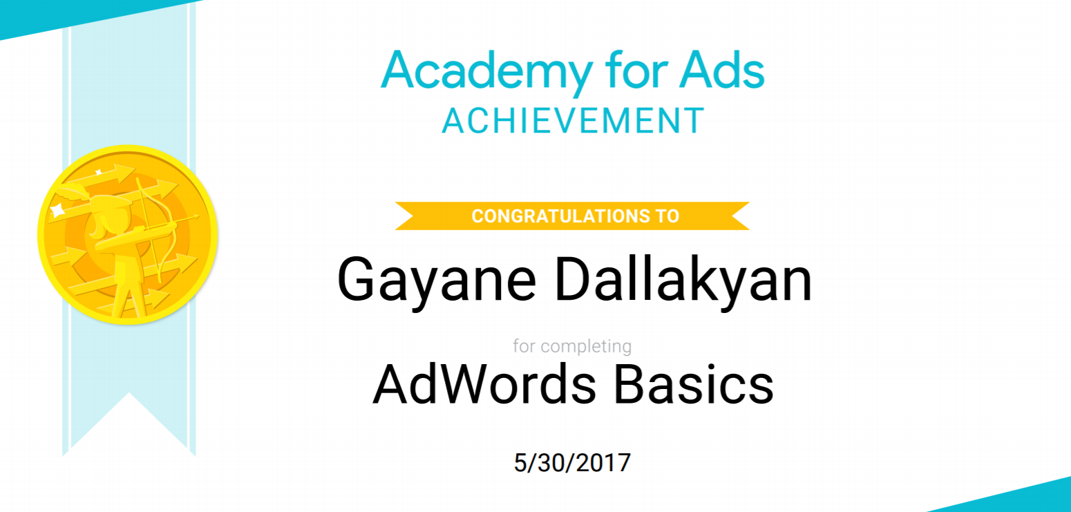 adwords certfied