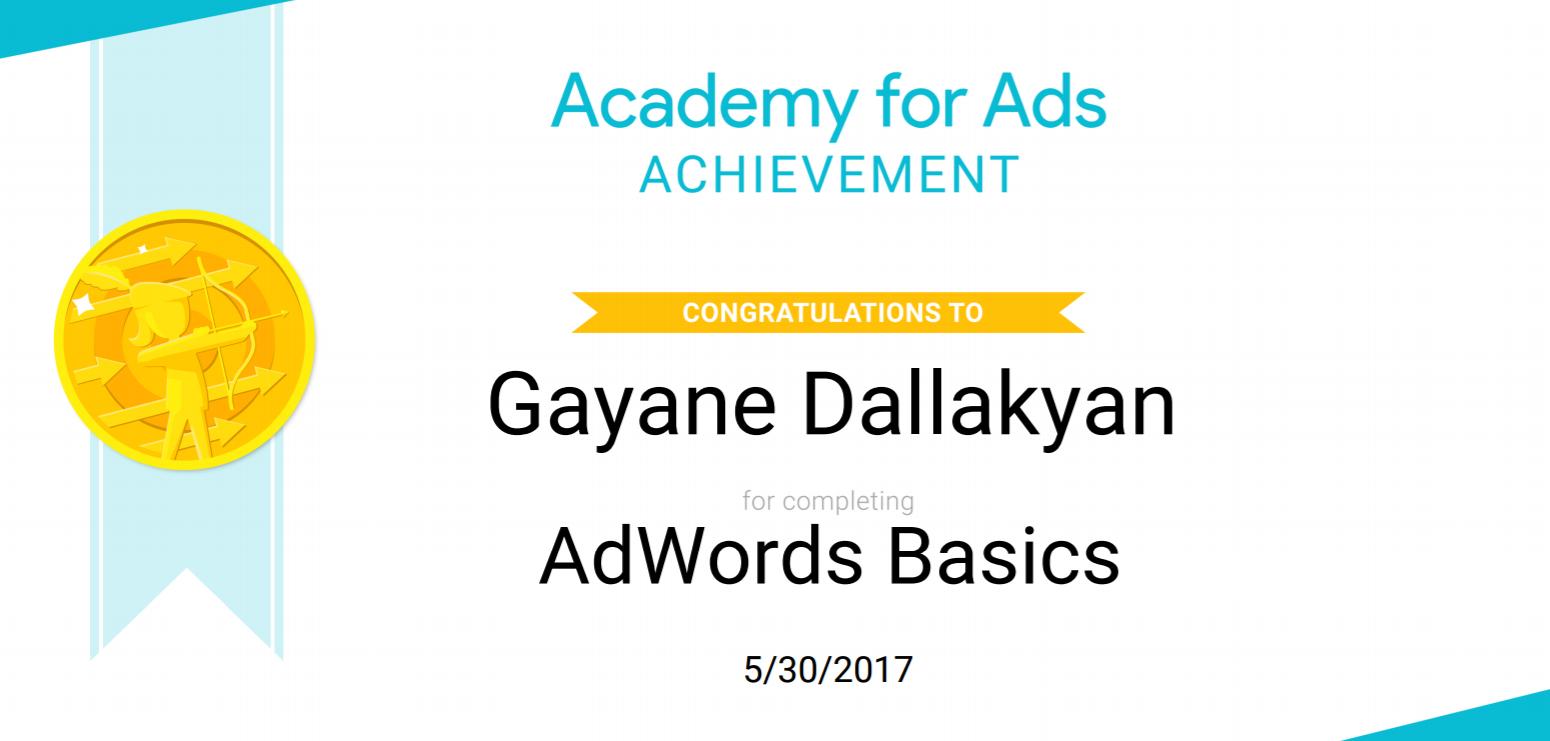 adwords certfied